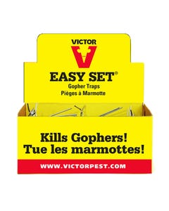 Victor® Easy Set Gopher Trap Display