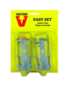 Victor® Easy Set Gopher Traps - 2 Pack