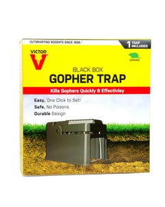 Victor® Black Box Gopher Trap