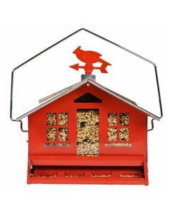 Perky-Pet® Squirrel-Be-Gone II Country House Wild Bird Feeder