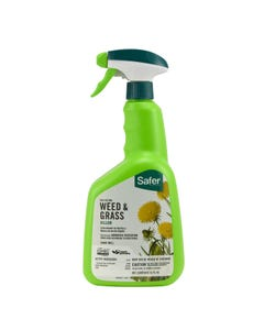Safer® Brand Fast-Acting Weed & Grass Killer Ready-to-Use Spray