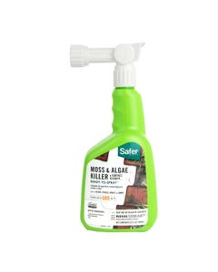 Safer® Brand Moss & Algae Killer & Surface Cleaner Concentrate