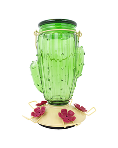 Perky-Pet® Cactus Top-Fill Hummingbird Feeder - 32 oz