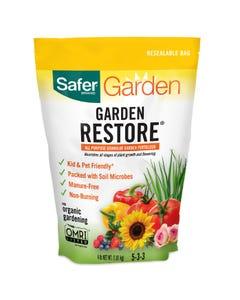 Safer® Brand Garden Restore® Fertilizer - 4 lb