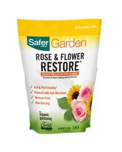 Safer® Brand Rose & Flower Restore® Fertilizer