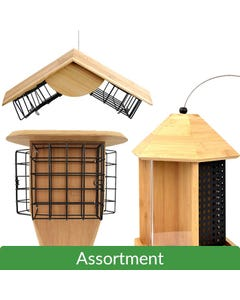 Perky-Pet® Bamboo Feeder Assortment