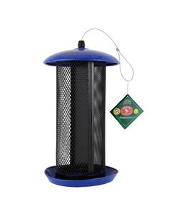 Perky-Pet® Large Dual Mesh Seed Feeder Cobalt Blue