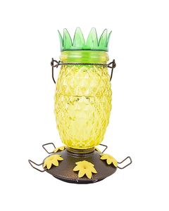 Perky-Pet® Pineapple Top-Fill Hummingbird Feeder - 28 oz