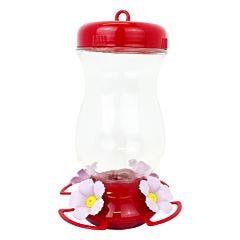 Perky-Pet® Pink Top-Fill Glass Hummingbird Feeder - 24 oz