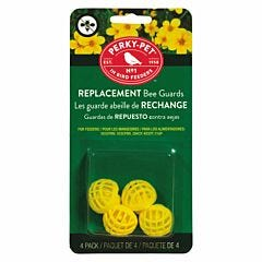 Perky-Pet® Yellow Replacement Bee Guards