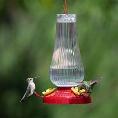 Perky-Pet® Fluted Oil Lamp Plastic Hummingbird Feeder - 20 oz