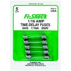 Fi-Shock® 1/16 Ampere Time-Delay Fuse