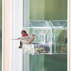 Perky-Pet Window Bird Feeder - 1/2 lb Capacity