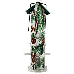 Perky-Pet® Pine Metal Tube Wild Bird Feeder