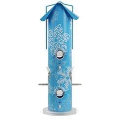 Perky-Pet® Snowflake Metal Tube Wild Bird Feeder