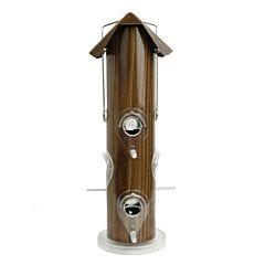 Perky-Pet® Wood Metal Tube Wild Bird Feeder