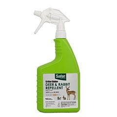 Safer® Brand Critter Ridder® Deer & Rabbit Repellent Ready-to-Use Spray - 32 oz