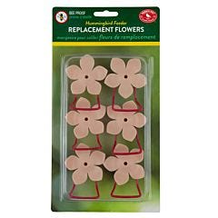 Perky-Pet® Replacement Peach Phlox Flower Feeding Ports and Perches