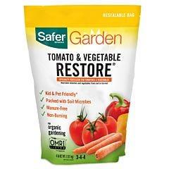 Safer® Brand Tomato & Vegetable Restore® Fertilizer