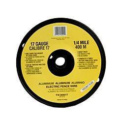 Zareba® 17 Guage Aluminum Wire - 1/4 Mile