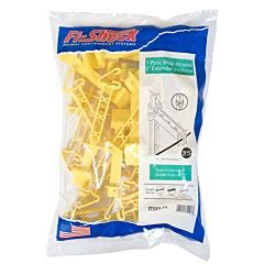Fi-Shock® Yellow T-Post Wrap-Around 5 Inch Extender Insulator