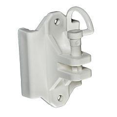 Zareba® White Pin-Lock Wood and T-Post Insulator