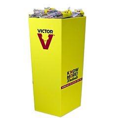 Victor® Metal Pedal Rat Trap Dump Bin