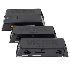 Victor Electronic Mouse Trap with Disposable Mouse Refill Chambers