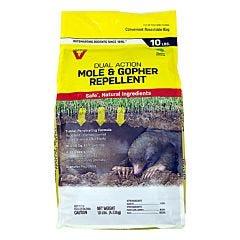 Victor® 10 lb Mole & Gopher Granular Repellent Display
