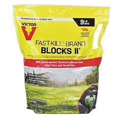 Victor® Fast-Kill® Brand Rodenticide Bait Blocks 11 - 9 lb