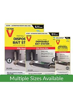 Victor® Fast-Kill® Brand Disposable Mouse Bait Station