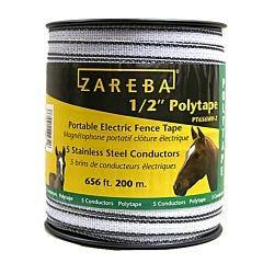 Zareba® White 1/2 Inch Polytape