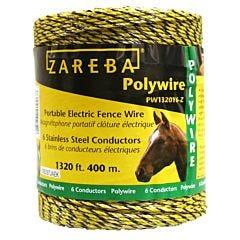 Zareba® Yellow 6 Conductor Polywire - 1320 ft