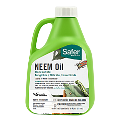 Safer® Brand Neem Oil Concentrate -16 oz