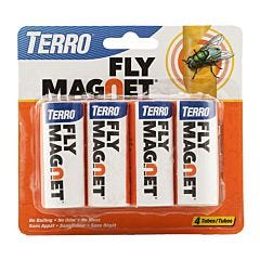 TERRO® Fly Magnet® Sticky Fly Paper Trap - 4 pack