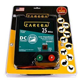 Zareba 174 25 Mile Battery Operated Solid State Fence Charger