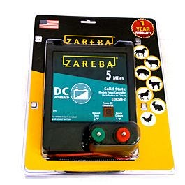 Zareba 174 5 Mile Battery Operated Electric Fence Charger
