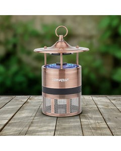 DynaTrap® ¼ Acre Outdoor Mosquito and Insect Trap with Atrakta Pod - Antique    Copper