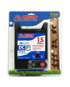 Fi-Shock® 15 Mile Battery Operated Low Impedance Fence Charger