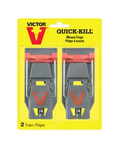 Victor® Quick-Kill® Mouse Trap- 2 Pack