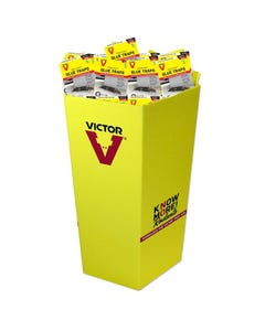 Victor® Hold-Fast® Disposable Mouse Glue Traps Dump Bin
