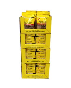 Victor® 4 lb Mole & Gopher Granular Repellent Display
