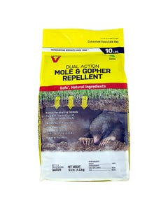 Victor® 10 lb Mole & Gopher Granular Repellent Display