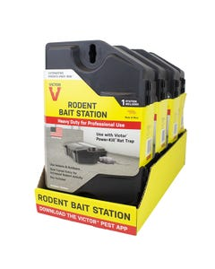 Victor® Refillable Rodent Bait Station