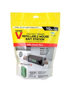Victor® Fast-Kill® Brand Refillable Mouse Bait Station