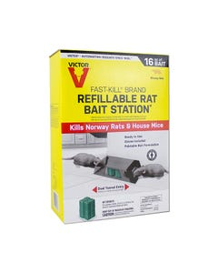 Victor® Fast-Kill® Brand Refillable Rat Bait Station