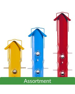 Perky-Pet® Metal Tube Feeder Assortment