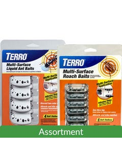 TERRO® Multi-Surface Ant & Roach Bait Assortment