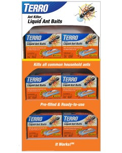 TERRO® Liquid Ant Bait Power Wing Display