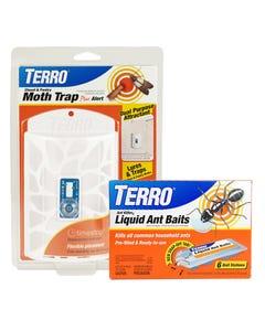 TERRO® Ant Bait & Moth Trap Assortment
